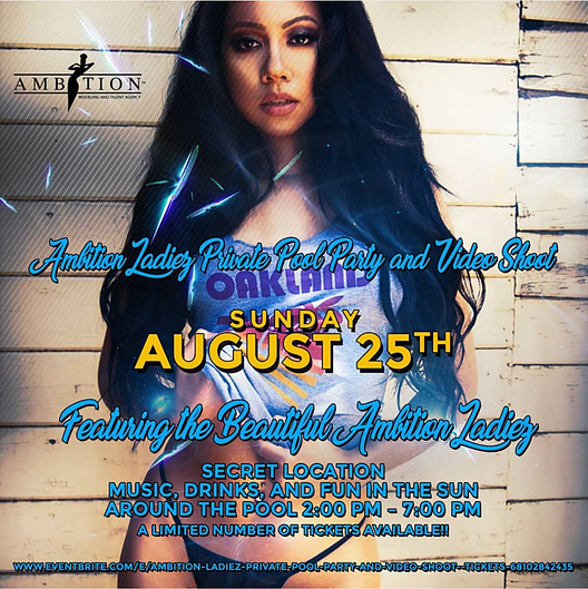 Ambition ladies private pool party